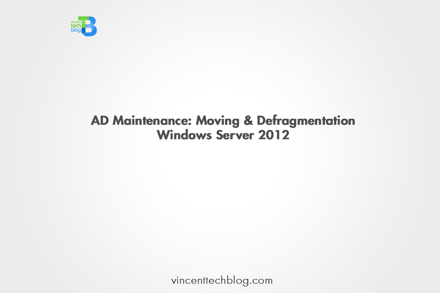AD Defragmentation