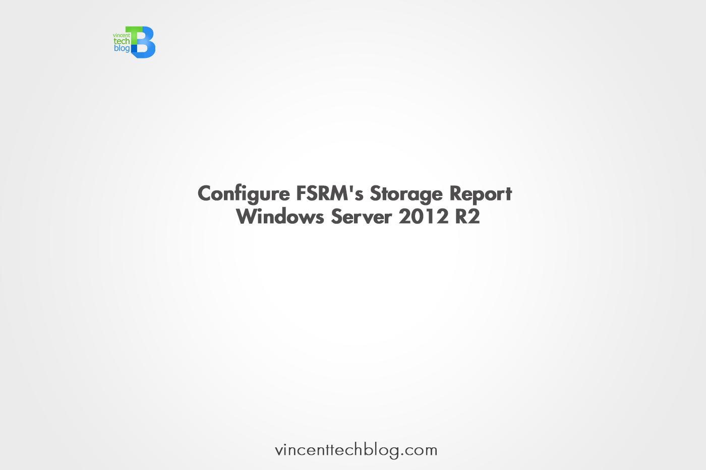 Storage Report