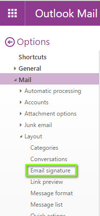 Email Signature Outlook